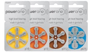 батарейки слуховых аппаратов